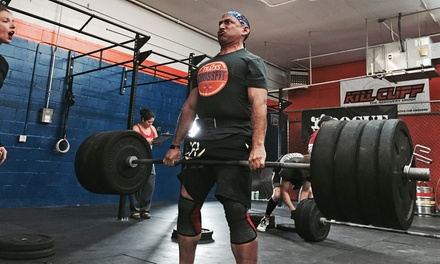 One or Two Months of Unlimited CrossFit Classes or CardioFit Bootcamp at CrossFit The Tracks (Up to 76% Off)