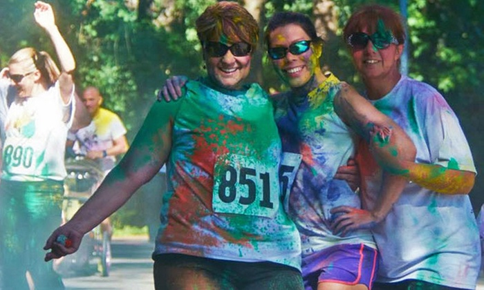 Veterans Cross Country Color 5K - Jackson Park: Ultimate Color Experience 5K Entry for One or Two from Color the Fight 5K (Up to 52% Off)