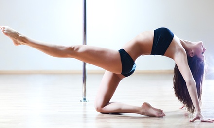 Four- or Eight-Week Beginners' Aerial or Pole Fitness Course at Aerial Active (25% Off)