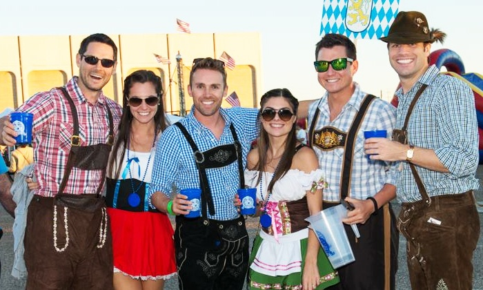 Oktoberfest Houston - Houston: Admission with Souvenir Cups for Two or Four to Oktoberfest Houston on Saturday, September 13 (Up to 45% Off)