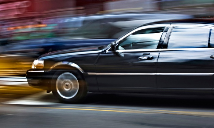 S&G Limousine - Merrick: Airport Transportation for Up to Three in a Town Car from S&G Limousine (Up to Half Off). Three Options Available.
