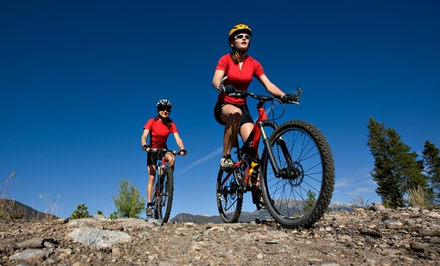 $17.50 for a 3.5-Hour Mountain Bike Rental from Sixes Pit Bicycle Shop ($40 Value)