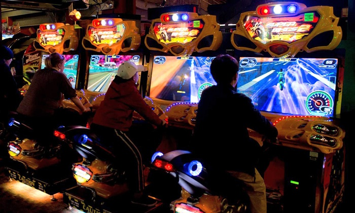 GameWorks - Ontario Center: $20 for an All-Day Game Pass for One to GameWorks ($45 Value)