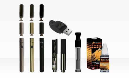 AtmosRX Nano Dry Herb Vaporizer Kit with Nano Oil Cartridge with Wireless USB Charger
