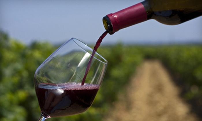 Wight-Meyer Vineyard & Winery - Shepherdsville: Cheese Platter and Wineglasses with Wine Tasting for Two, Four, or Six at Wight-Meyer Vineyard & Winery (Half Off)