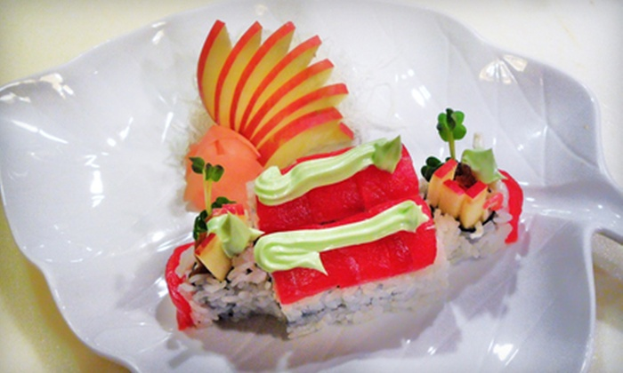 Sushimaru - South Lakes: Sushi and Asian-Fusion Cuisine at Sushimaru (Half Off). Two Options Available.