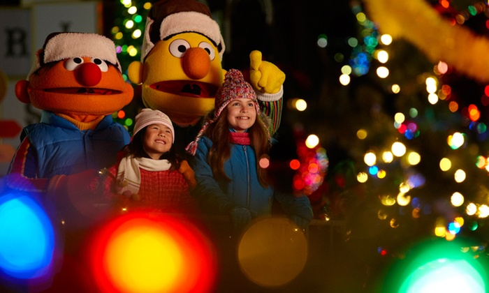 """Sesame Place - Sesame Place: $20 Single-Day Admission for One to Sesame Place for """"A Very Furry Christmas"""" (up to $32.10 value)"""
