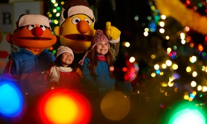 "Sesame Place: $20 Single-Day Admission for One to Sesame Place for ""A Very Furry Christmas"" (up to $32.10 value)"