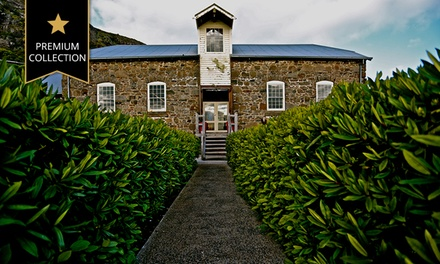 Stanley: From $299 for a Romantic Tasmanian Getaway for Two People with Wine and Late Checkout at At VDL Stanley