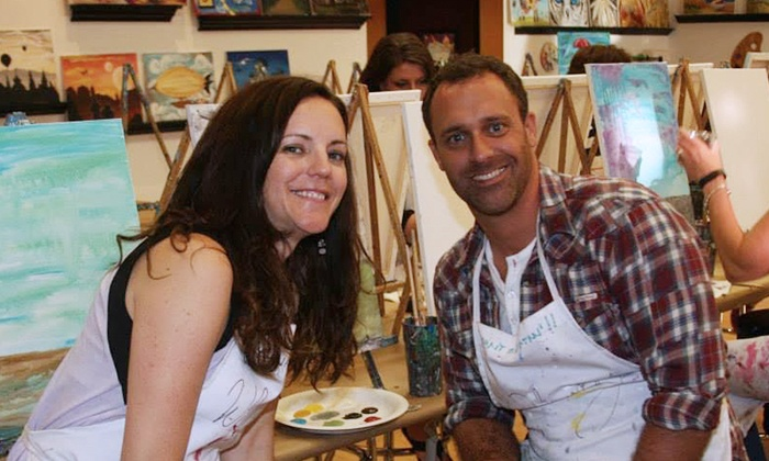 Whimsy Paint and Sip - Whimsy Northfield, LLC: $30 for One Adult Painting Class at Whimsy Paint and Sip ($45 Value)
