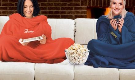 Personalised Sleeved Blanket