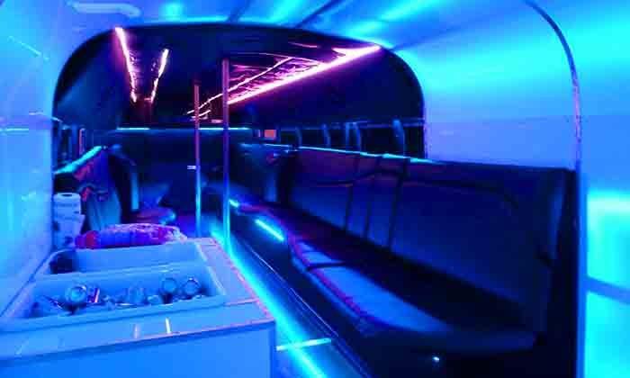 Atlanta Danceportation - Atlanta: Friday Night Bar Circulator Party Bus for Two, Four, or Eight from Atlanta Danceportation (Up to 53% Off)