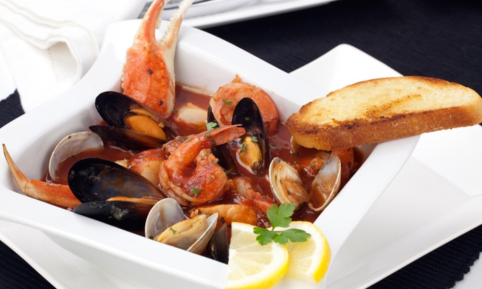 Portofino Cucina Italiana - Downtown Los Angeles: Chef's Tasting Menu with Champagne for Two or Four at Portofino Cucina Italiana (46%% Off)