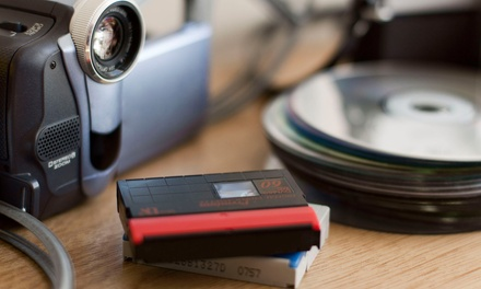 3, 6, 9, or 12 Video-to-DVD Transfers at Katfam Photo (Up to 84% Off)