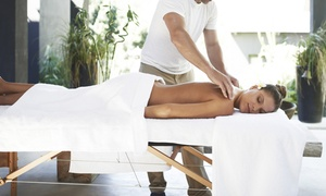 London Massage 4u: One-Hour Thai or Deep Tissue Massage at London Massage 4u (Up to 50% Off)