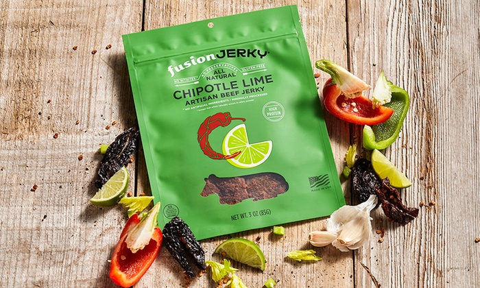 Fusion Jerky - San Francisco International Airport: $40 for $55 Worth of Gourmet Food — Fusion Jerky