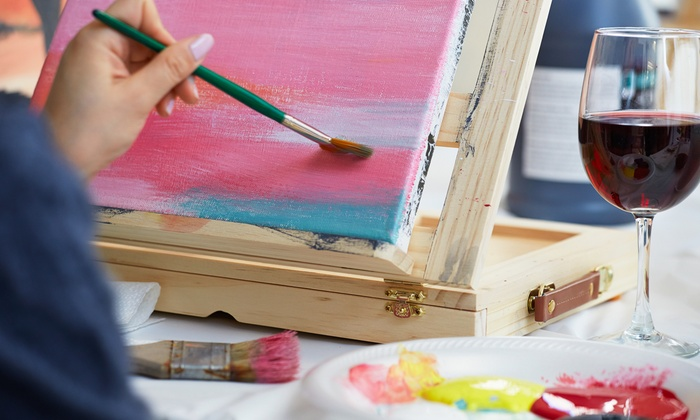 Wild Brush Studio - Downtown Mckinney: BYOB Painting Class for One or Two at Wild Brush Studio (Up to 52% Off)