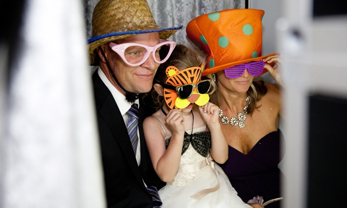 TM Fotography - Santa Cruz / Monterey: $250 for Two-Hour Photobooth Rental from TM Fotography ($500 Value)