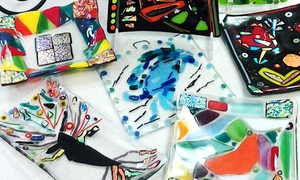 The ClayGround Studio & Gallery: One, Two, or Three BYOB Glass-Fusing Classes at The ClayGround Studio & Gallery (Up to 66% Off)