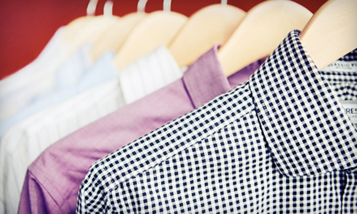 Regency Cleaners - Great Uptown: Dry Cleaning and Laundry Services at Regency Cleaners (Half Off). Two Options Available.