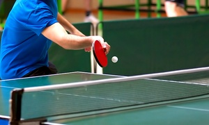 Table Tennis and More: Table Tennis for Two or Four, or One or Two Month Membership at Table Tennis and More (Up to 49% Off)