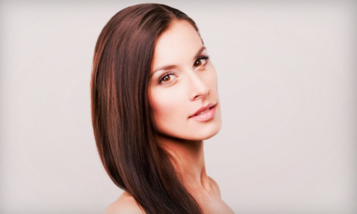 Hair Pollution - Encanto: Haircut, Style, and Optional Full Color or Partial Highlights at Hair Pollution (Up to 65% Off)