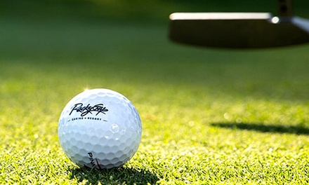 $65 for 18 Holes of Golf, Plus One Range Ball Token at Rocky Gap Casino & Resort ($103 Value)
