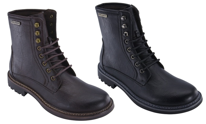 rocawear s combat boots groupon goods