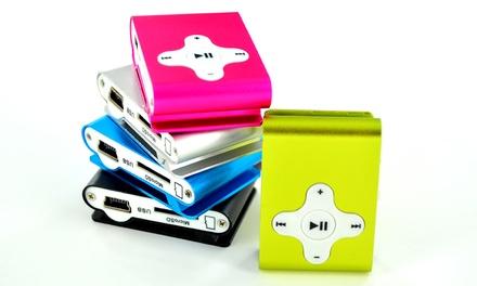 1 o 2 lectores MP3 con opción a tarjeta Micro SD Kingston 4Gb y clip desde 5,99 € (hasta 80% de descuento)