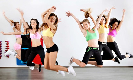 5 or 10 Dance and Fitness Classes, or One Month of Unlimited Classes at Fire Dance Studio (Up to 64% Off)