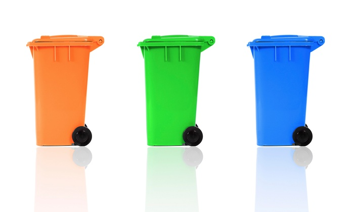 El Paso Disposal Bin Cleaners - El Paso: One or Three Garbage- or Recycling-Bin Cleanings from El Paso Disposal Bin Cleaners (Up to 58% Off)