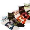 6 Pairs of DC Big Letter Socks