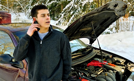 $88 for $175 Worth of Roadside Assistance  One4 towing & recovery