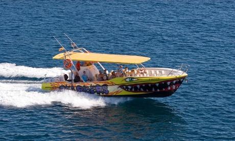 Excursión en barco a Cala Mondragó para niños y/o adultos desde 9,95€ en Sea Riders