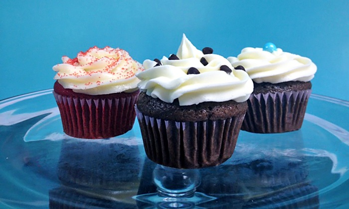 The Wooden Spoon - Bossier City: One or Two Dozen Cupcakes at The Wooden Spoon (44% Off)