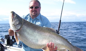 Fortune Charters: Full-Day Fishing Trip for One or Two from Fortune Charters (Up to 52% Off)
