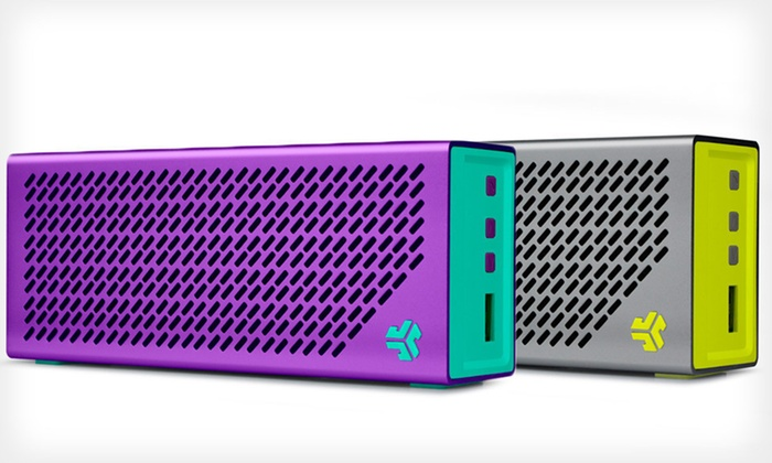 JLab Audio Portable Bluetooth Speaker with Built-in Power Pack: $59 for a JLab Audio Crasher Bluetooth Speaker ($149.95 List Price). Four Colors Available. Free Shipping and Returns.