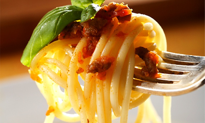 Spaghetti Works - Downtown Des Moines: $17 for $30 Worth of Classic Italian Cuisine at Spaghetti Works
