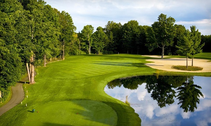 Crystal Mountain - Thompsonville, MI: One-Night Stay with Optional Round of Golf at Crystal Mountain in Northern Michigan