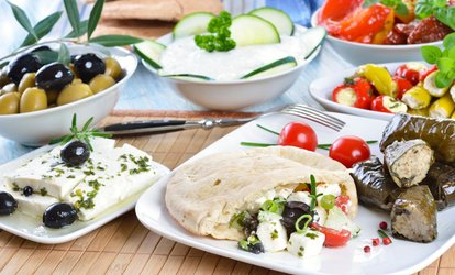 Traditional Greek Meze for Two or Four at Frosoulla's (Up to 57% Off)