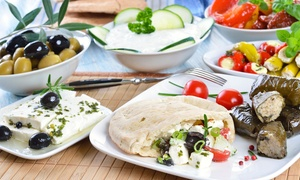 Frosoulla's: Traditional Greek Meze for Two or Four at Frosoulla's (Up to 57% Off)