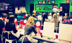 $24 For A Two-hour Sip And Paint Class At Sip
