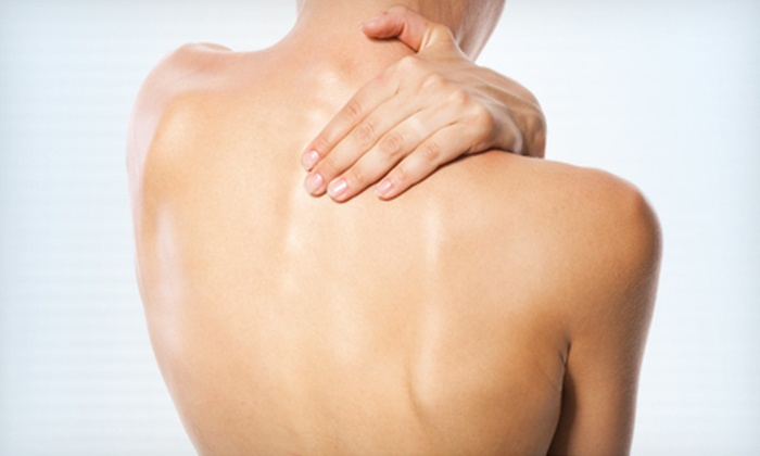 The Joint, the Chiropractic Place - Multiple Locations: $24 for Four Chiropractic Adjustments at The Joint, the Chiropractic Place (Up to $116 Value)