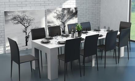 Mesa consola extensible de 140 o 235 cm desde 149 € (hasta 67% de descuento)