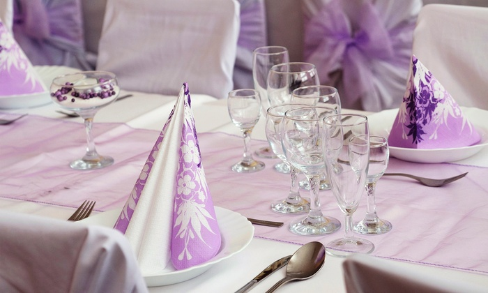 Beautiful Memories Linens & Event Services, LLC - St. Ann: Rental of 100 or 200 Chair Covers and Sashes from Beautiful Memories Linens & Event Services, LLC (45% Off)