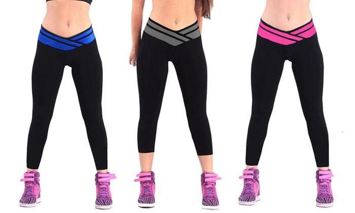 Shaping Sportlegging.V Shape Sportlegging Groupon Goods