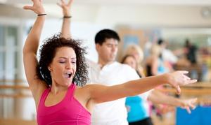 International Dance Studio: 5 or 10 Ballroom-Fitness Classes at International Dance Studio (Up to 62% Off)