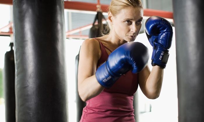 Main Event Fitness Center - Northeast Arcadia Lakes: One-Month Gym Membership, or 10 Boxing, Kickboxing, or Zumba Classes at Main Event Fitness Center (Up to 73% Off)