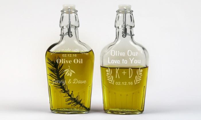 Monogram Online: $14.99 for a Personalized Olive-Oil Bottle from Monogram Online ($39.99 Value)