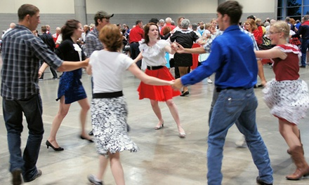 $36 for $72 Toward Square-Dancing Classes at Twin City Spinners